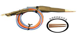 細線・熱電対用溶接ピンセット